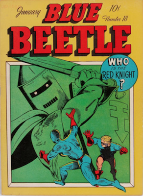 The Blue Beetle #18. Click for current values.