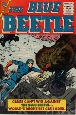 The Blue Beetle #19. Click for current values.
