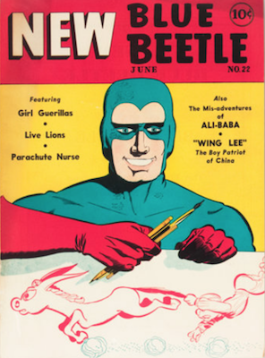 The Blue Beetle #22. Click for current values.