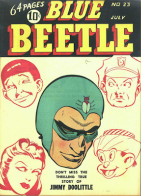The Blue Beetle #23. Click for current values.