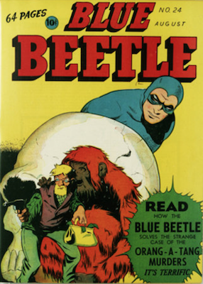 The Blue Beetle #24. Click for current values.