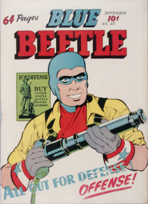 The Blue Beetle #25. Click for current values.