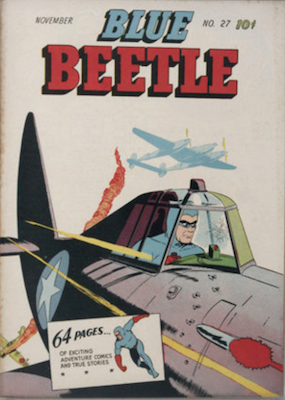 The Blue Beetle #27. Click for current values.