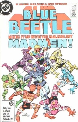 Origin and First Appearance, Prometheus, Blue Beetle #3, DC Comics, 1986. Click for value