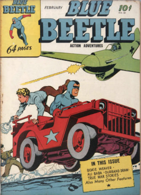 The Blue Beetle #30. Click for current values.