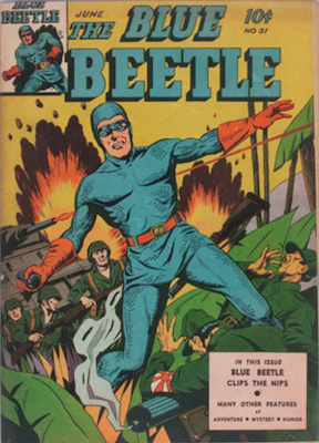The Blue Beetle #31. Click for current values.