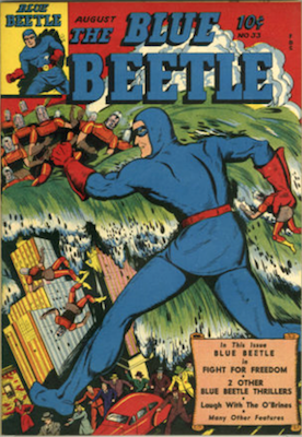 The Blue Beetle #33. Click for current values.