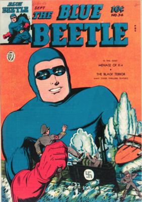 The Blue Beetle #34. Click for current values.