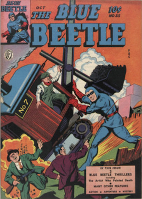 The Blue Beetle #35. Click for current values.