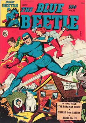 The Blue Beetle #36. Click for current values.