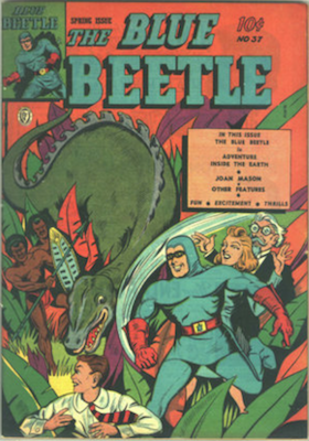The Blue Beetle #37. Click for current values.