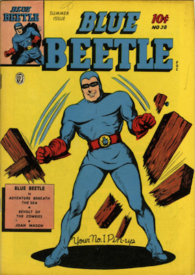The Blue Beetle #38. Click for current values.