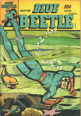 The Blue Beetle #40. Click for current values.