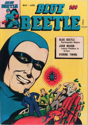 The Blue Beetle #41. Click for current values.