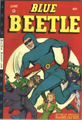 The Blue Beetle #45. Click for current values.