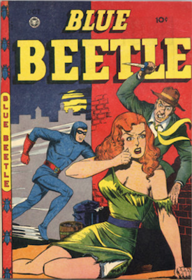 The Blue Beetle #49. Click for current values.