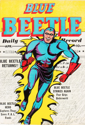 The Blue Beetle #58. Click for current values.