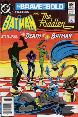 Brave and the Bold #183: Riddler comic cover story. Click for values