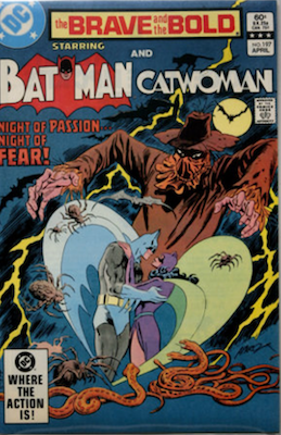 Brave and the Bold #197: Marriage of Catwoman and Batman (Earth II). Scarecrow cover. Click for values