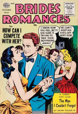 Brides Romances #23. Matt Baker cover. Click for values