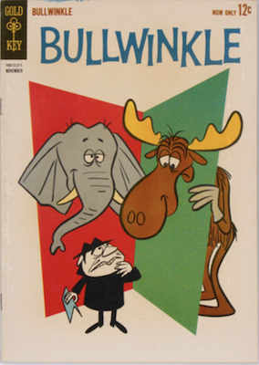 Bullwinkle #1 (1962), Gold Key comics. Click for values