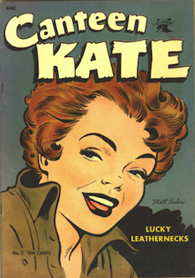 Canteen Kate #2: Matt Baker cover art. Click for values