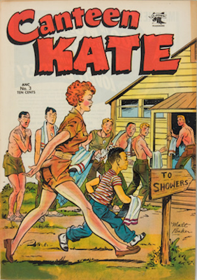 Canteen Kate #3. Matt Baker cover. Click for value