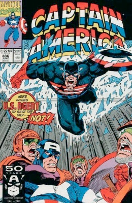Origin and First Appearance, Superia, Captain America #386, Marvel Comics, 1991. Click for value