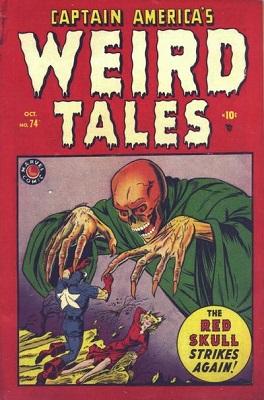 Captain America Comics #74 (1949): Rare Captain America horror comic, retitled to