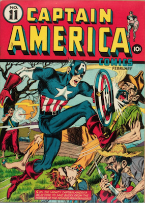 Captain America Comics #11. Click for current values.
