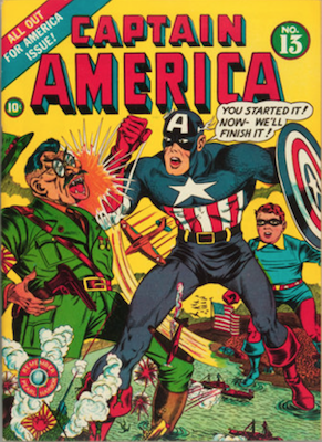 Captain America Comics #13. Click for current values.