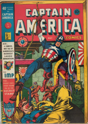 Captain America Comics #14. Click for current values.