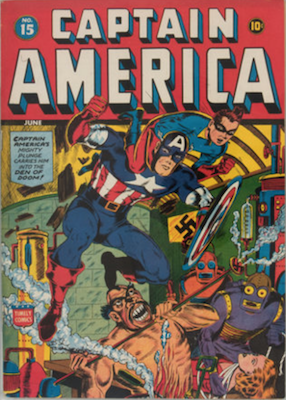 Captain America Comics #15. Click for current values.