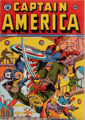 Captain America Comics #18. Click for current values.