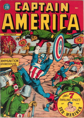 Captain America Comics #20. Click for current values.