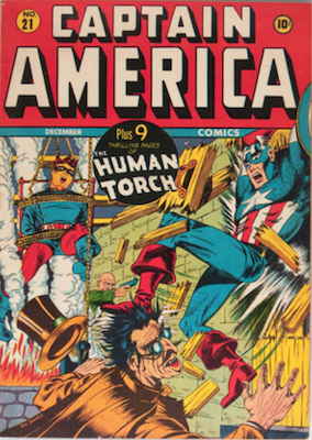 Captain America Comics #21. Click for current values.