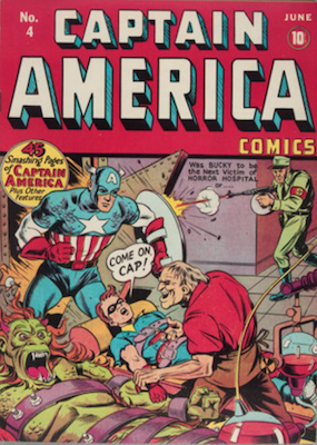 Captain America Comics #4. Click for current values.