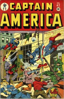 Captain America Comics #42. Click for current values.