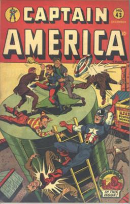 Captain America Comics #43. Click for current values.