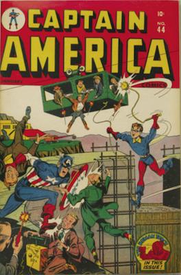 Captain America Comics #44. Click for current values.