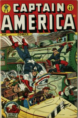 Captain America Comics #45. Click for current values.