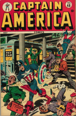 Captain America Comics #48. Click for current values.