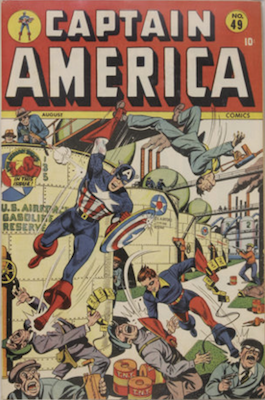 Captain America Comics #49. Click for current values.