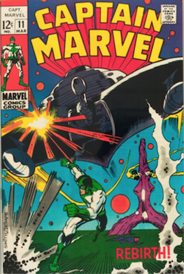 Captain Marvel #11. Click for current values.