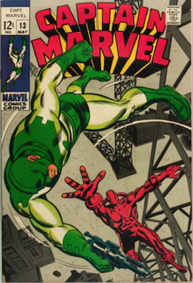 Captain Marvel #13. Click for current values.