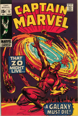 Captain Marvel #15. Click for current values.