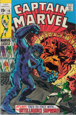 Captain Marvel #16. Click for current values.