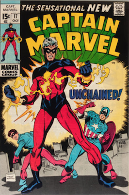 Captain Marvel #17. Click for current values.