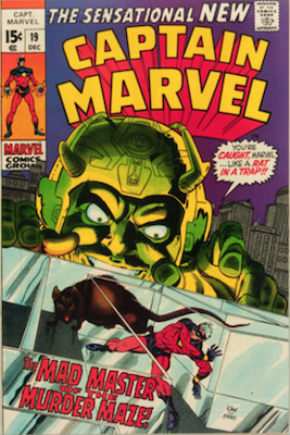 Captain Marvel #19. Click for current values.