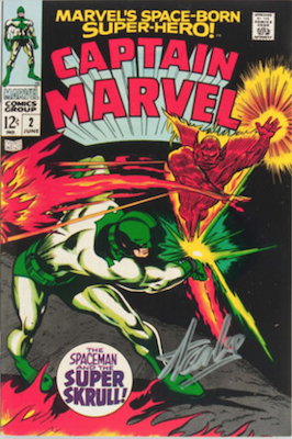 Captain Marvel #2. Click for current values.